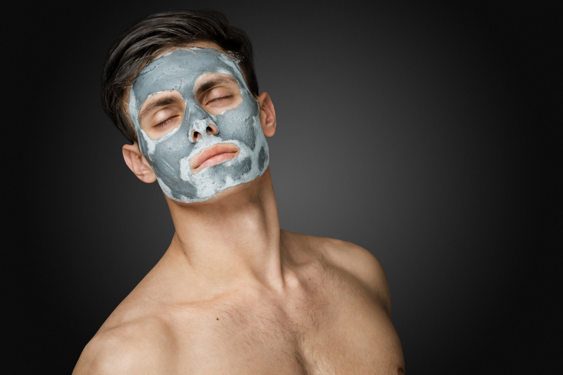 acné chez l'homme