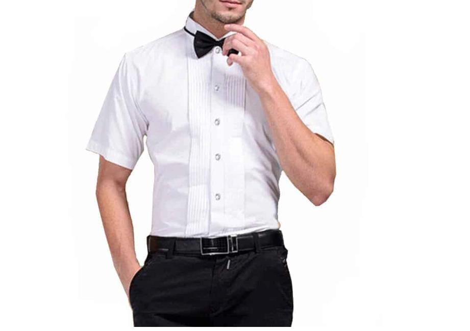 chemise à col cassé