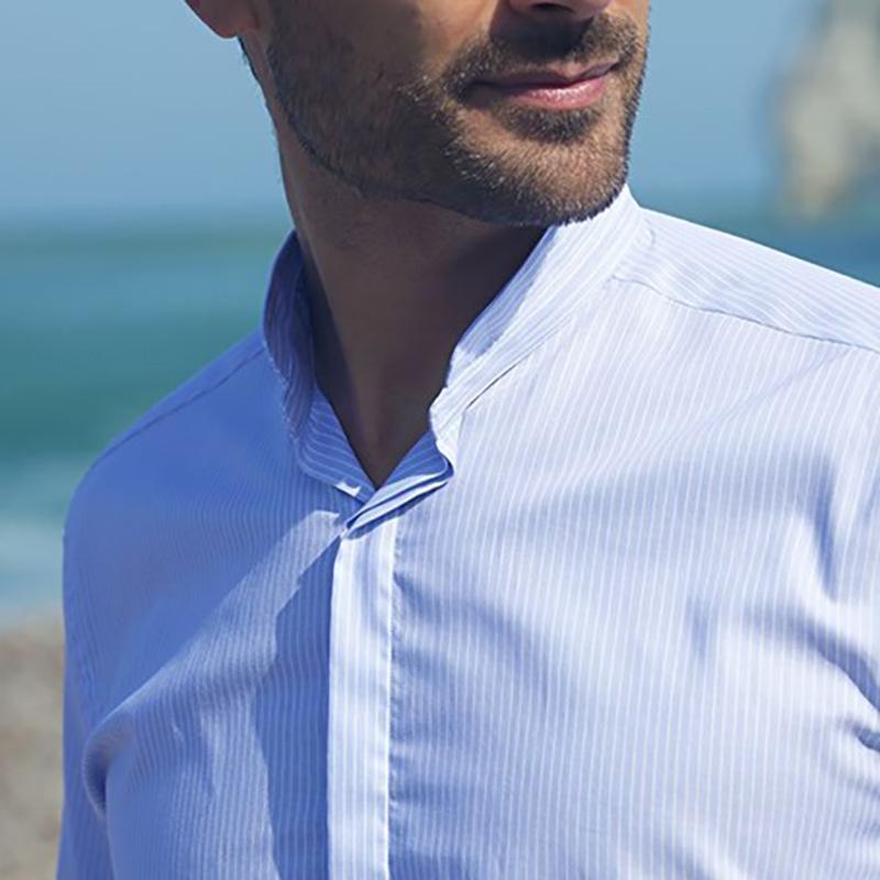 chemise à col moderne