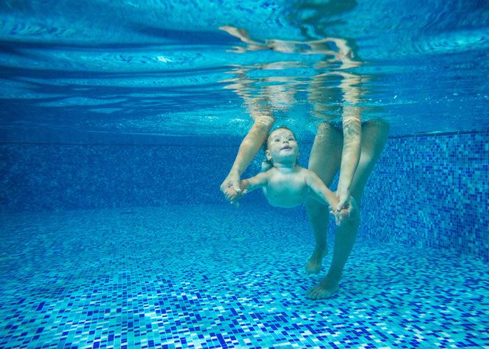 couche de natation