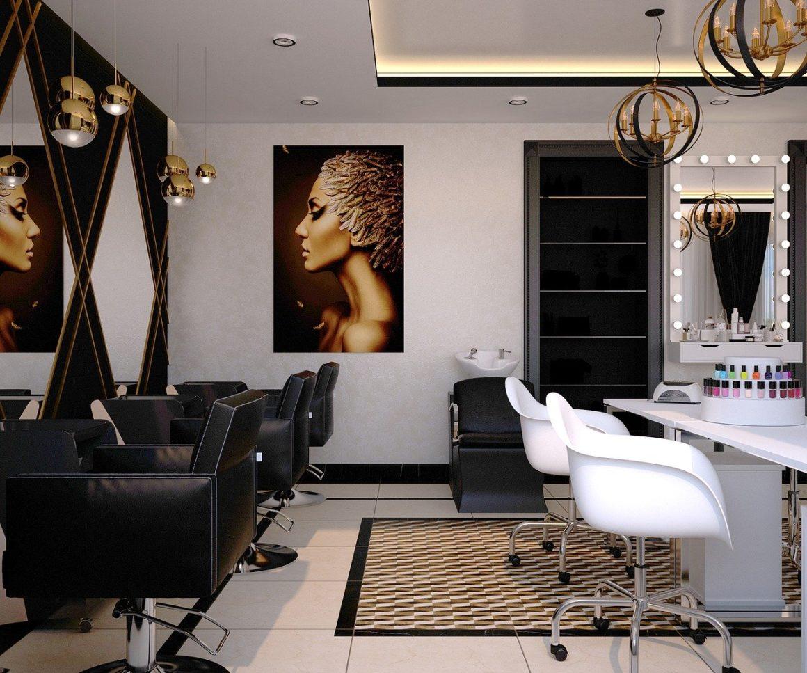 décorer salon de coiffure