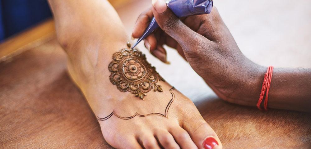 dessin au henné
