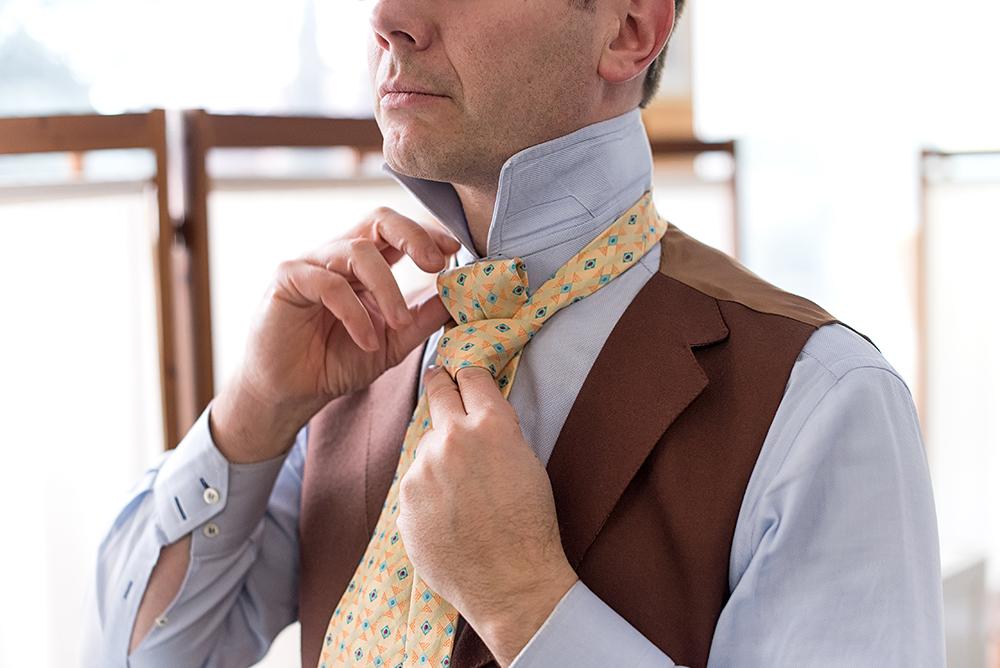 faire un nœud de cravate