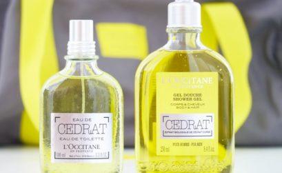 Gel douche à l'huile d'olive et cédrat de Corse