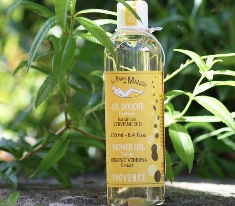 Gel douche bio à l'huile d'olive