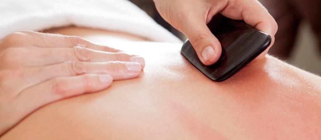 gua sha massage chinois