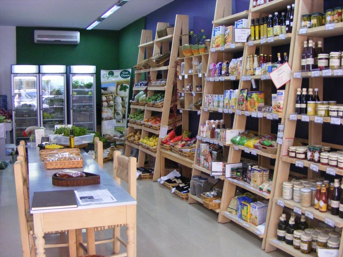 magasin épicerie produits bio