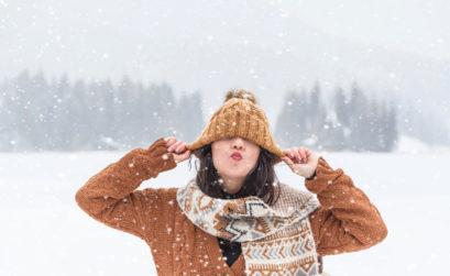 maille en hiver