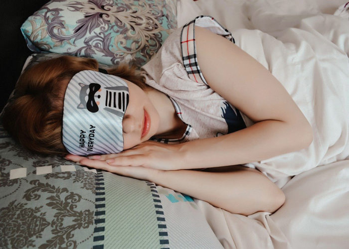masque de nuit et sommeil