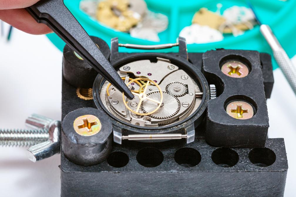 prendre soin de sa montre