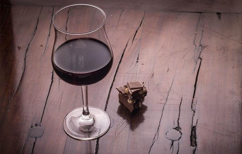 Régime vin, chocolat, bière