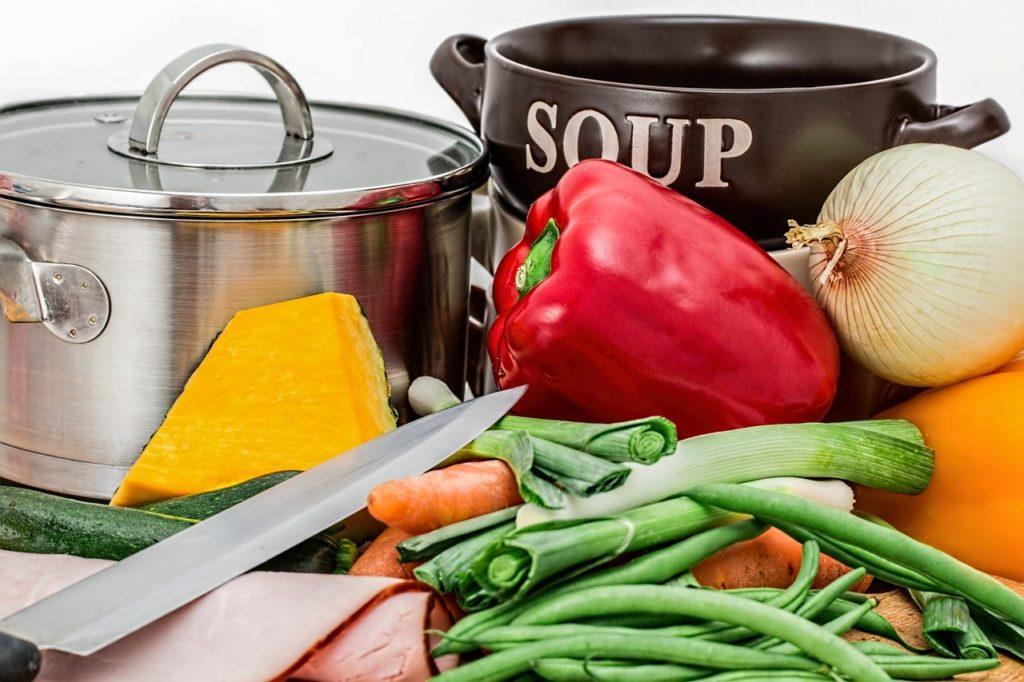soupe et vitamine
