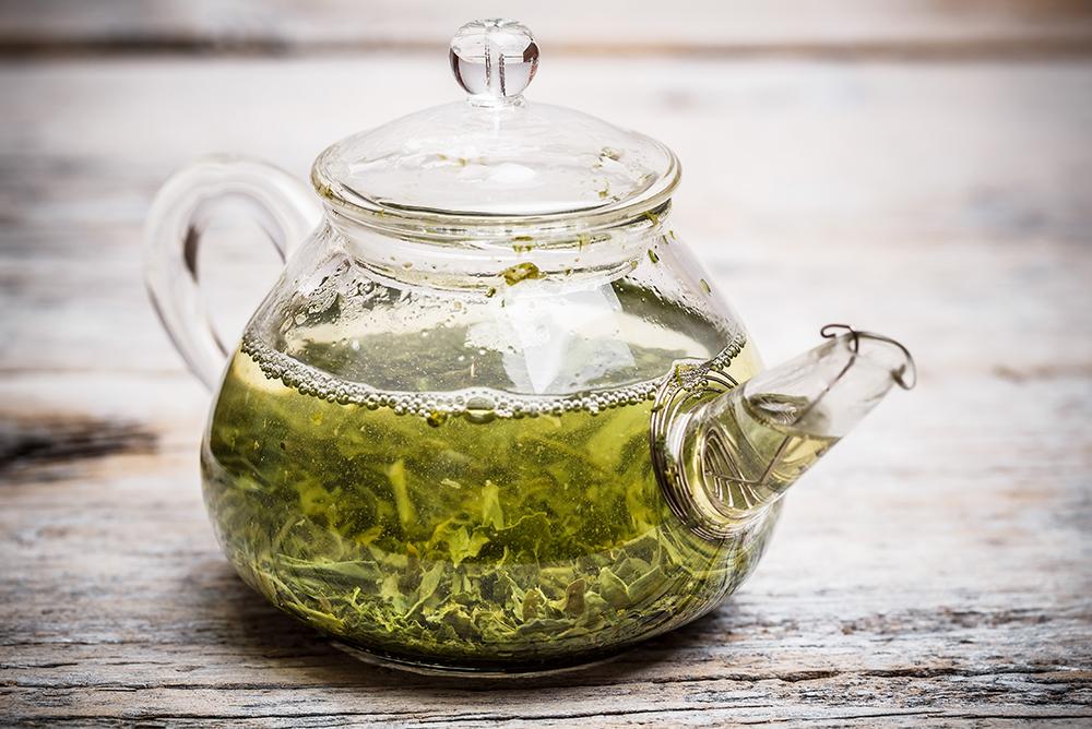 thé fleurs de chanvre
