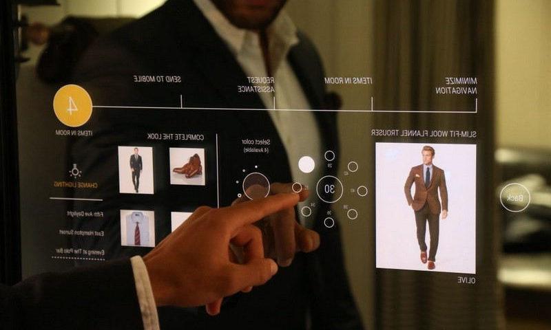 Essayer ses vêtements avec la réalité virtuelle