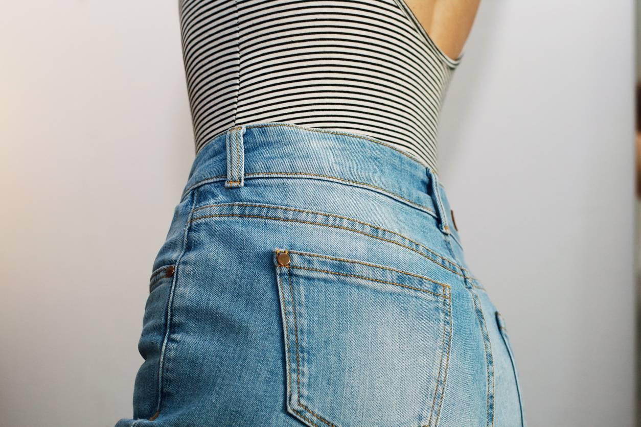 pantalon taille haute femme mode